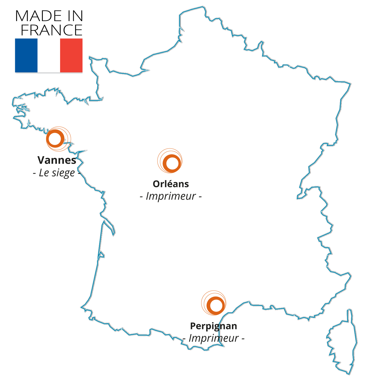 Made In France : Nos imprimeurs à Orléans et à Perpignan