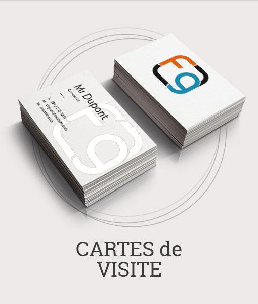 Impression Carte De Visite Format Standard