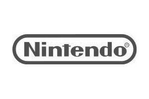 Logo Nintendo gris