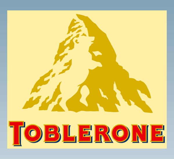 Logo a double sens Toblerone