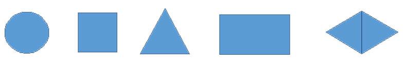 les différentes formes pour un logo