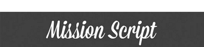Typo gratuite mission script