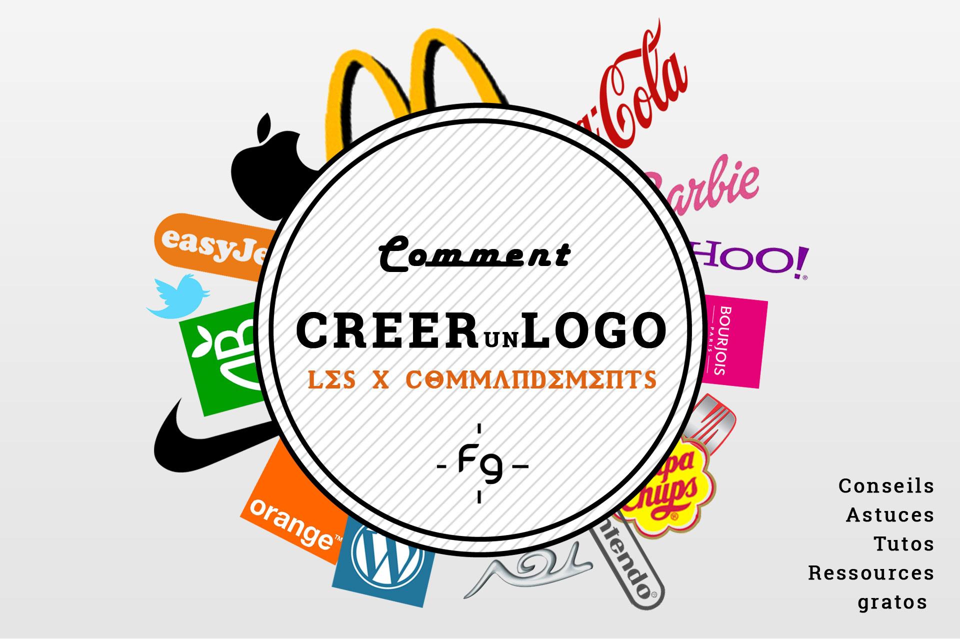les 10 commandements pour cr233er un logo professionnel